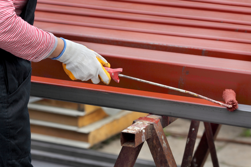 Обработка металла от ржавчины перед покраской порошковой краской