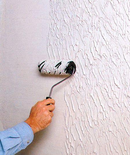Необычная штукатурка стен